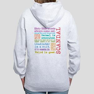 Scandal [multicolor] Women's Zip Hoodie